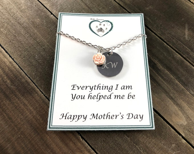 Mother's day gift • Gift from children • Necklace gift for mom • Mom jewelry • gift from daughter • Gift from son • gift ideas for mom