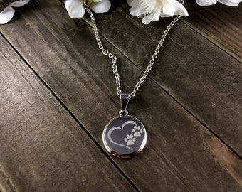Animal rescue necklace • Animal Lover necklace