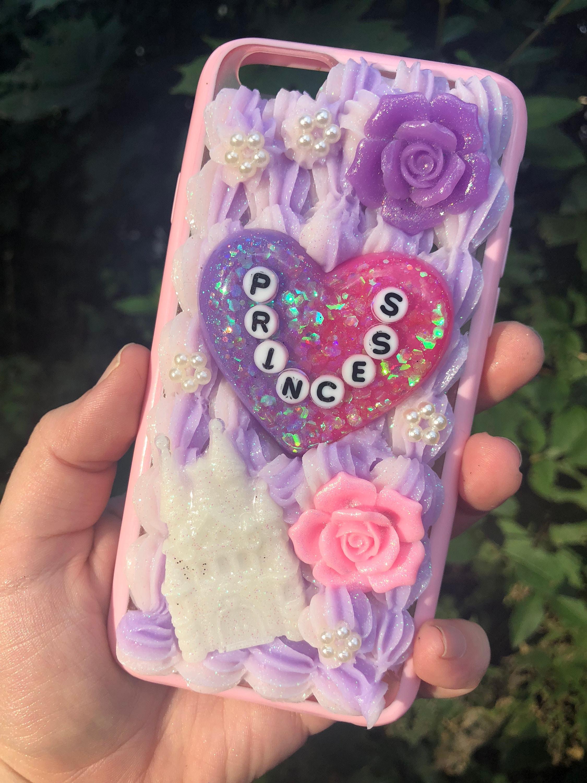 super popular b1c9b 0763a Princess ** Decoden ** IPhone Case
