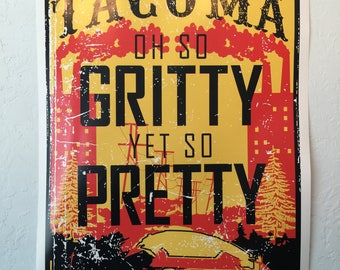 Gritty Pretty Poster