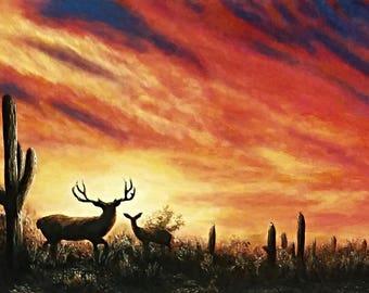 Custom Acrylic Landcape Paintings