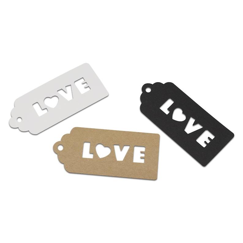 Black Card Bookmark Blanks Choose Colour /& Quantity Kraft White /& Ivory