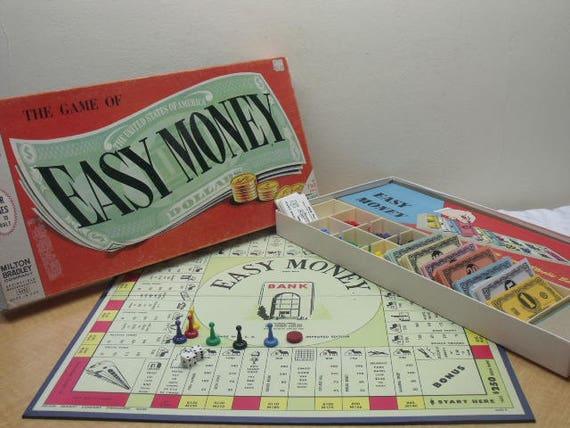 Jeu de société Vintage argent facile