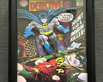 BATMAN Detective Comics 374 Comic Book 3D Art Frame Limited Edition Signed Numbered