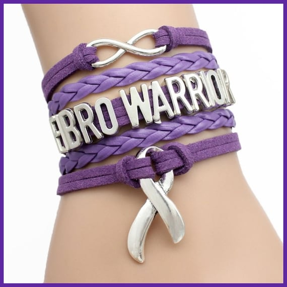 Fibro Warrior bracelet | Etsy