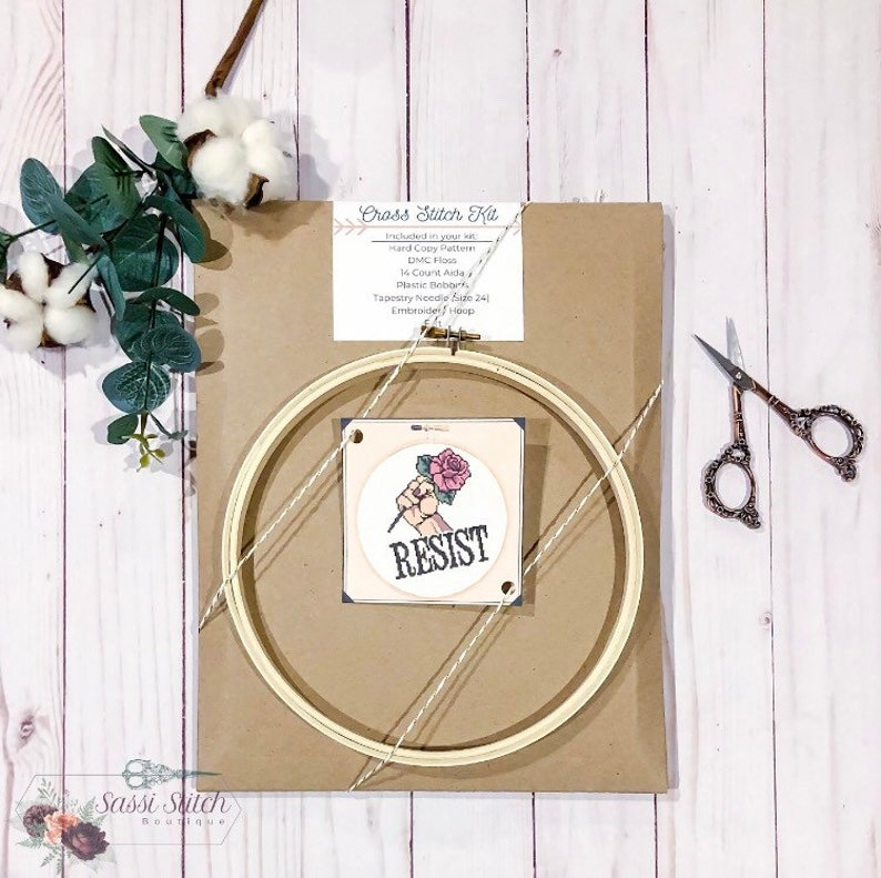 Crafty Gifts Cross Stitch Kit: Vermont Blackwork Kit State Pride DIY Craft Kit Advanced Cross Stitch Kit