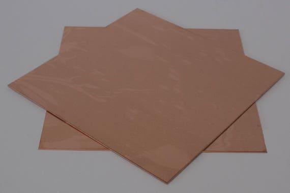 1.30mm Thick Copper Sheet 16ga 12 in x 12 in