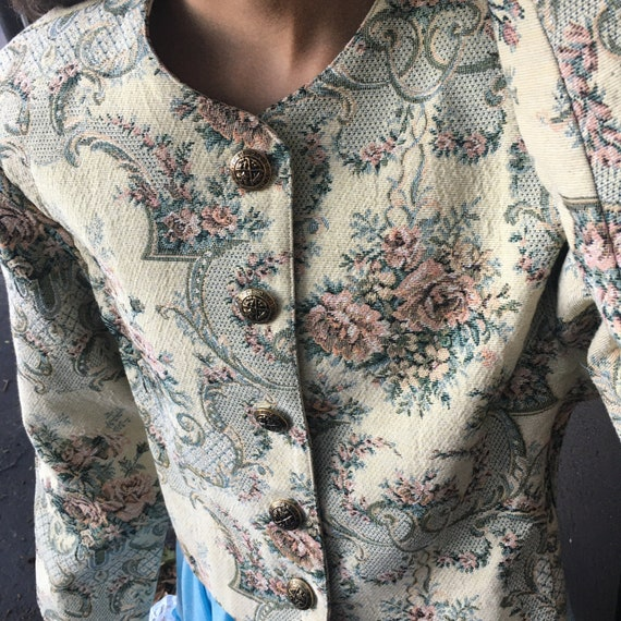 Vintage Brocade Jacket