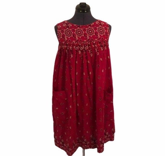 Vintage bandana dress