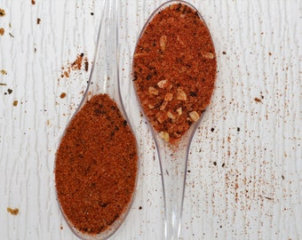 Choose Two Seasoning Mixes, herbs blends, herb and spice mixes or dry rubs. Great gift ideas. Perfect for outdoor grilling.
