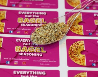 Everything Bagel Seasoning A 5 oz. bag of aromatic seasoning for bagels and avocado toast