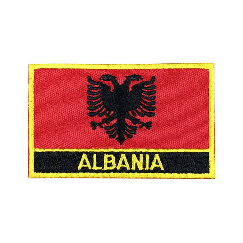 Iron on Albania Patch