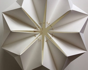 Paper Origami Lampshade || Flower