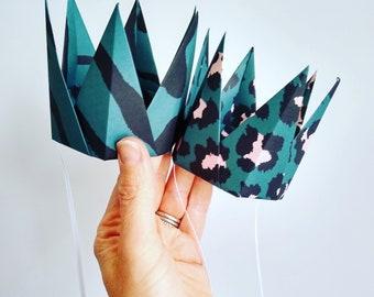 Luxe Party Crown - Multicolour Mini Party Hats - Wedding Favour - Party Decoration