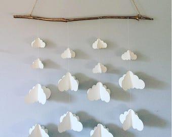 Origami Paper Mobile || Cloud