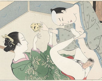 Great collection of beautiful portraits of Kamasutra-Japanese Art Press