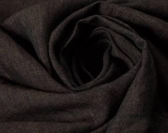 Solbiati Fabric Cotton Fabric Linen Fabric Blend Fabric Brown Fabric Fashion Interior Fabric Clothing Fabric By Metre Fabric Craft Fabric