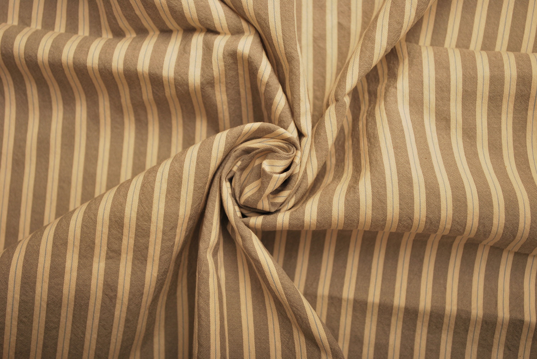 100 % gris coton tissu gris % tissu rayé tissu motif (103 x 153cm Remant 0faae01f1a6