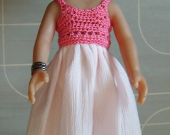 Princess pink baby doll dress