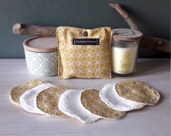 Set of 7 cotton reusable