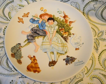 """11"""" Norman Rockwell Collector's Plate, Spring - Sweet Song So Young, Limited Edition 1973, 3D"""