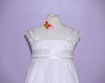 Twirling summer  ceremony Dress -  Model Sibylle