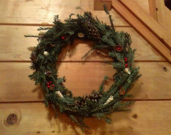 Live Christmas Wreath