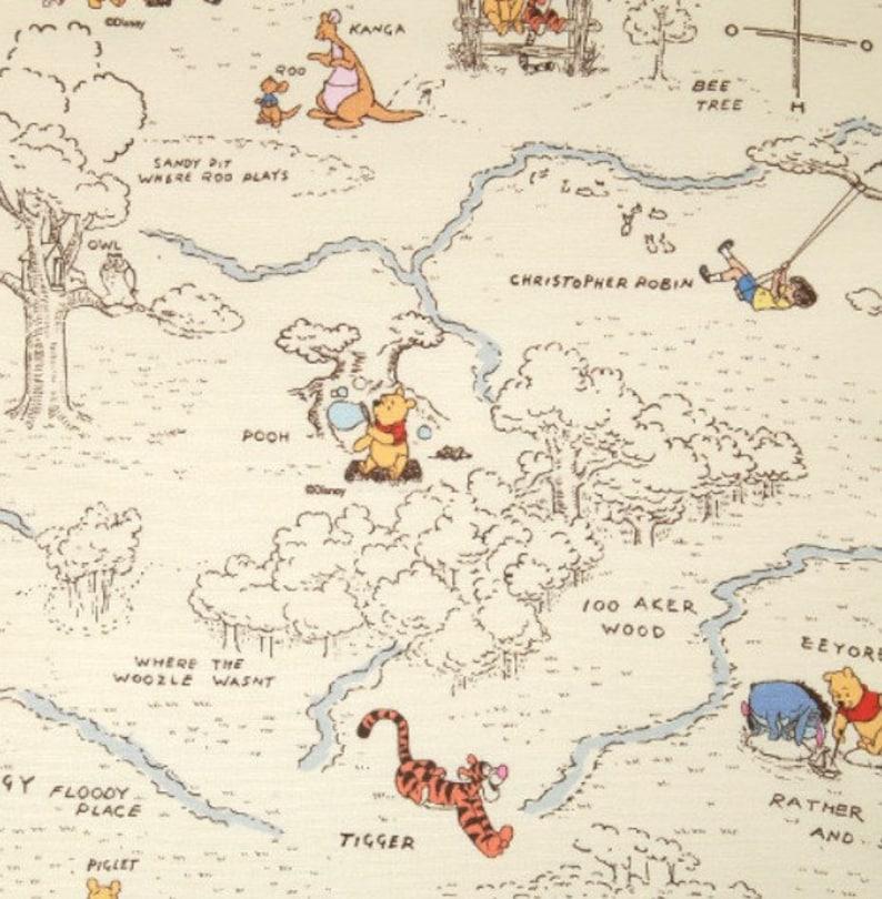 Tigger DISNEY Winnie the Pooh Piglet 100/% Cotton Kids Craft Fabric Eeyore