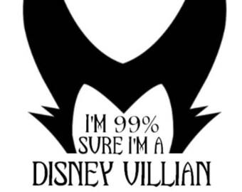 DISNEY VILLIAN SVG