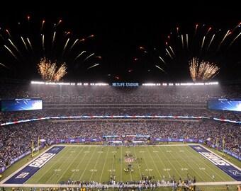 8e3172ed862 New York Giants Stadium Canvas, wall art canvas, large wall canvas , Ready  to Ship, Wall Decor, Sports, Football