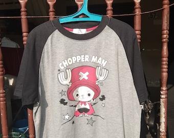 Pay Shipping Only Uniqlo Shonen Jump One Piece Tony Tony Chopper Man Anime Manga T Shirt Adult
