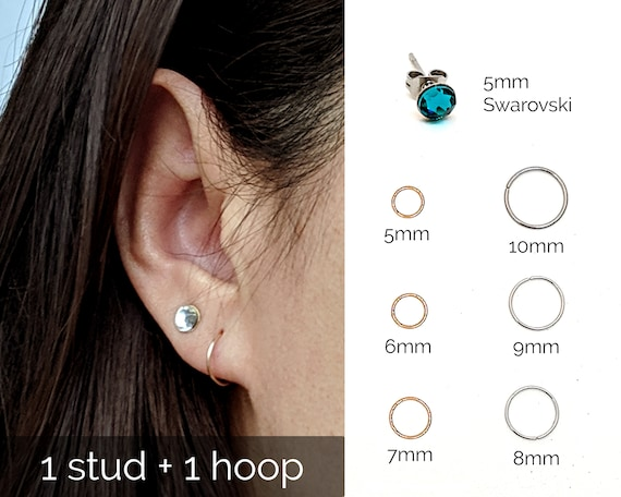 Topdo Womens Girls Stud Earrings Animal Cute Puppy Soft Pottery Daily Ear Cuff Simple Jewelry Gift 1Sets