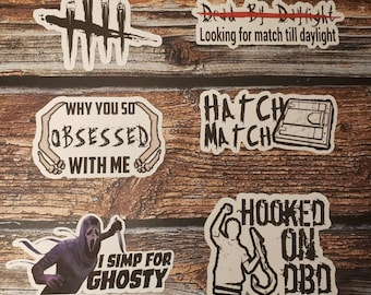Gaming - Dead By Daylight Stickers