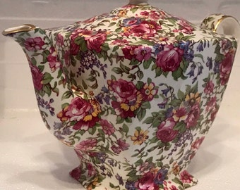 Royal Winton Summertime  Chintz Teapot
