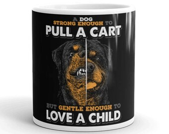Rottweiler Mug - Rottweiler Coffee Mug - Rottweiler Gift - Rottweiler Mom Gift - Rottweiler Dad Gift - Rottweiler Cup