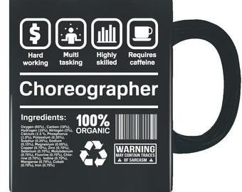 Choreographer Gifts Funny Job Description