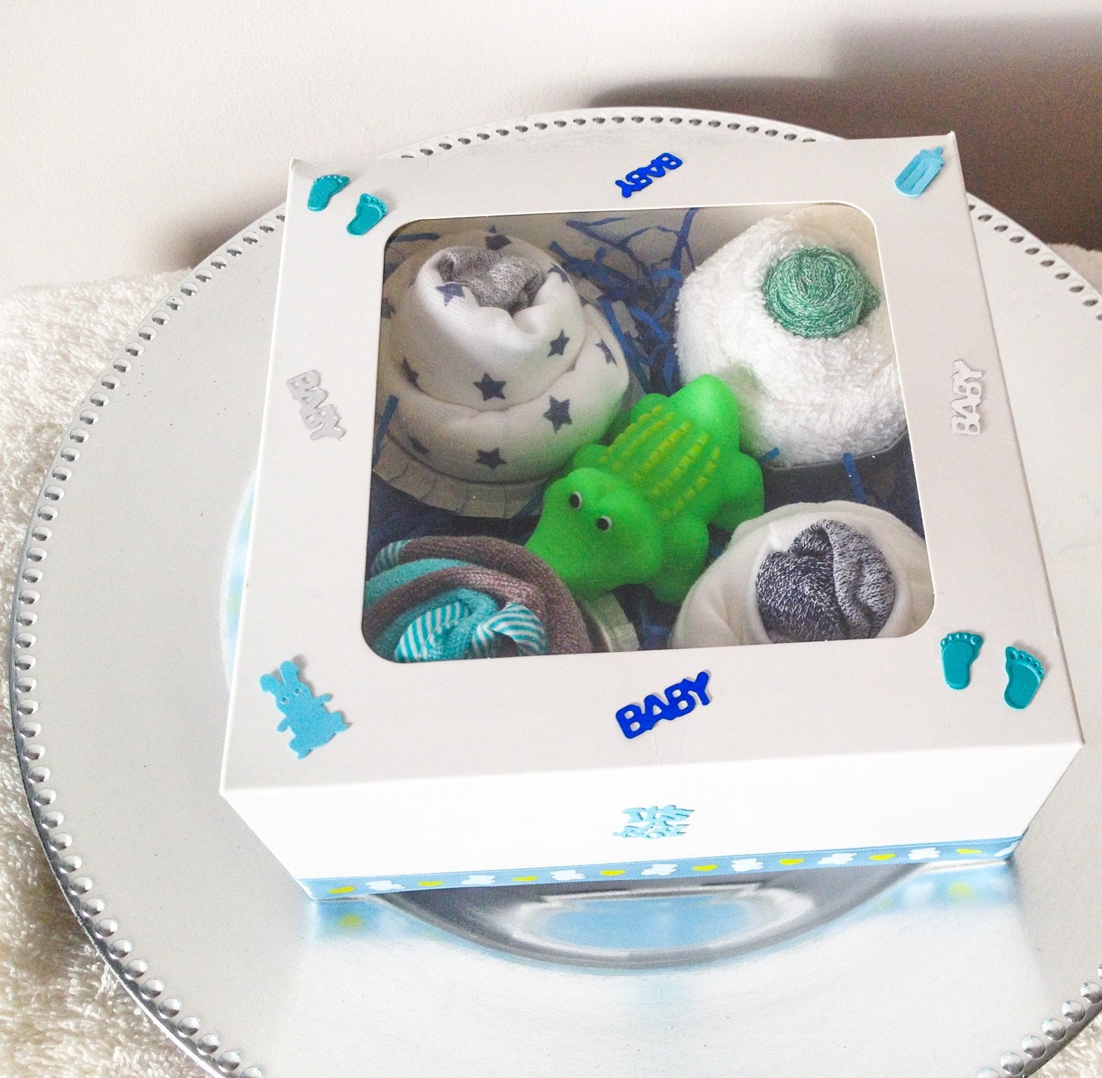 Cadeau Rigolo Baby Shower birth and babyshower - set cupcakes for baby - baby gift - baby christmas  gift original gift
