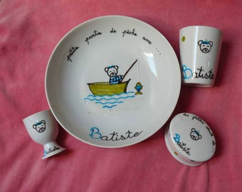 Gift child to customize; set 4 pieces