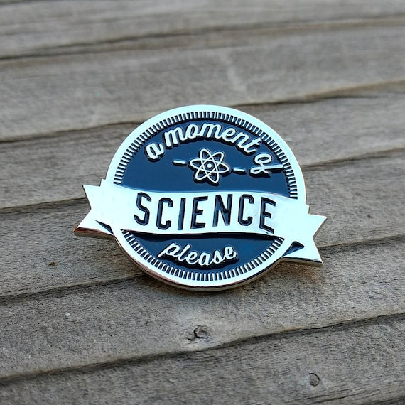 funny hat pin Starry enamel pin yall need science lapel pin