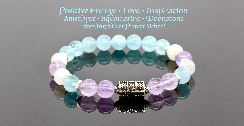 Genuine Real Natural Stone AAA Gemstone Power Bead Energy Braclet for Men Ladies