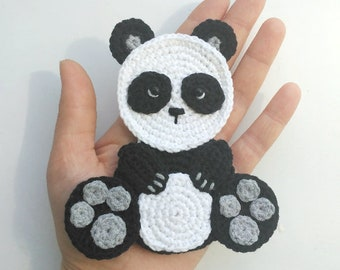 Pattern dog applique crochet pattern pdf pets animal pattern etsy