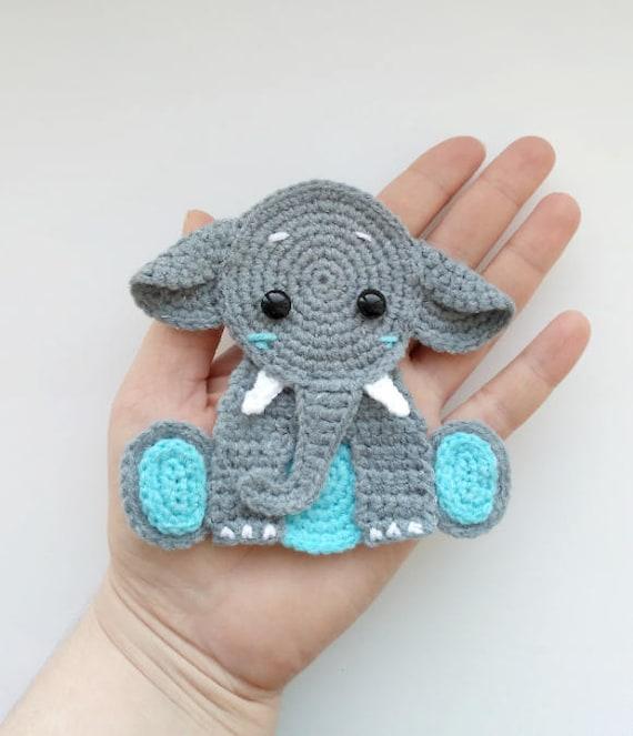 Sweet Elephants Free Crochet Patterns | 663x570