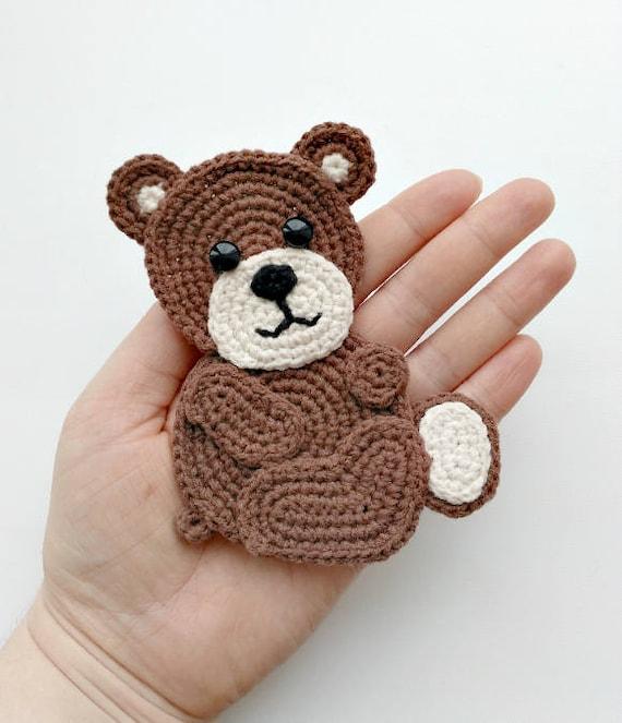Crochet Teddy Bear Pattern for Fifi   663x570