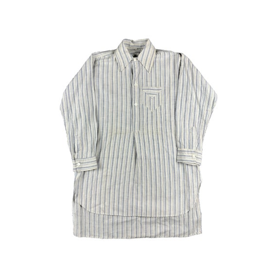 40s Striped Women Shirt