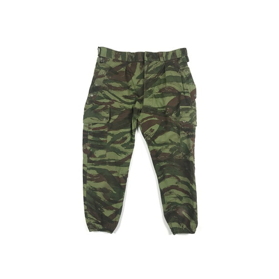 French Army Paratrooper Lizard Camo Pants