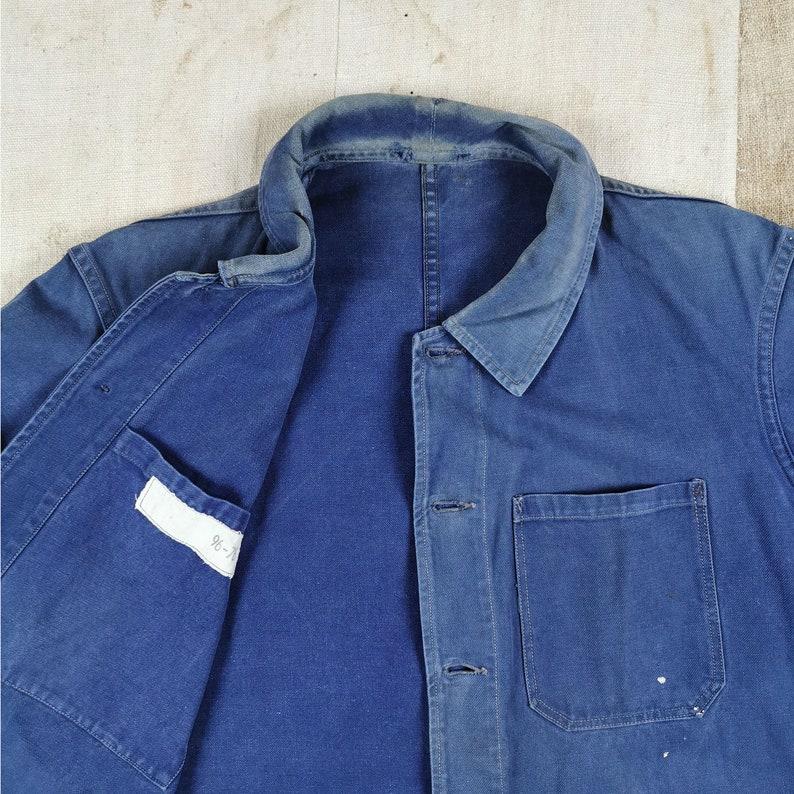 Faded Chore Jacket Size Mens Medium