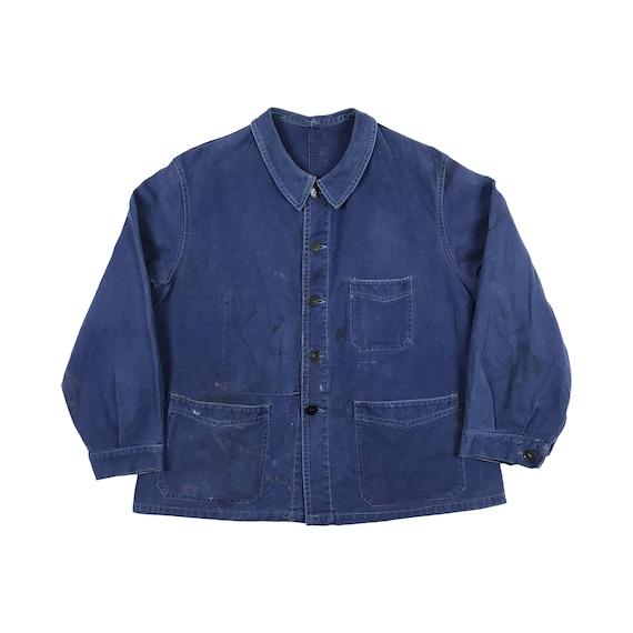 "Vintage ""Kidur"" Chore Jacket Size Large"
