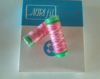 Yarn has embroidery and quilting machine Aurifil mako 40 multicolor