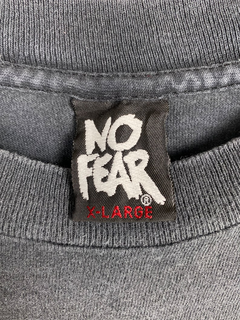 Vintage 90s No Fear t shirt vintage streetwear