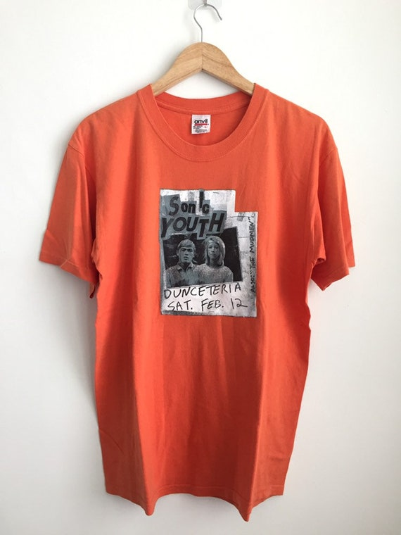RARE Vintage Sonic Youth band t shirt/ vintage ban